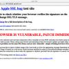 iOSのSSL脆弱性はOS Xにも存在。その確認方法は?
