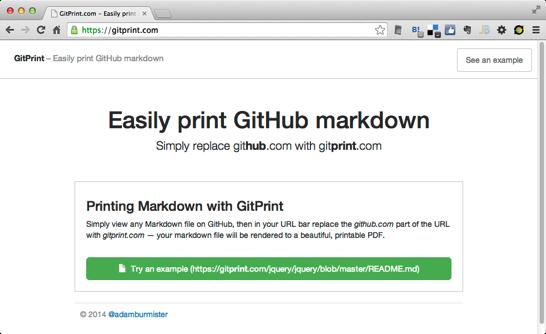 GitPrint com