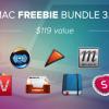 【神バンドル】完全無料の「Mac Freebie Bundle 3.0」キタ━(゚∀゚)━!