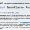 インタラクティブに正規表現が学習できるサイト「RegexOne」