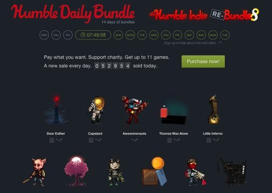 Humble Daily Bundle