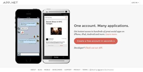 Join App net