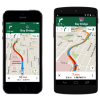 ターンバイターン方式ナビを採用した「Google Maps 3.0.0」