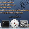 Dockで現在時刻を確認できる時計アプリ「Softmatic DockClock」今週限定で無料化