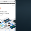 「iOS 8」の分割スクリーンの実装動画公開される