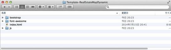 Template RealEstateMapDynamic