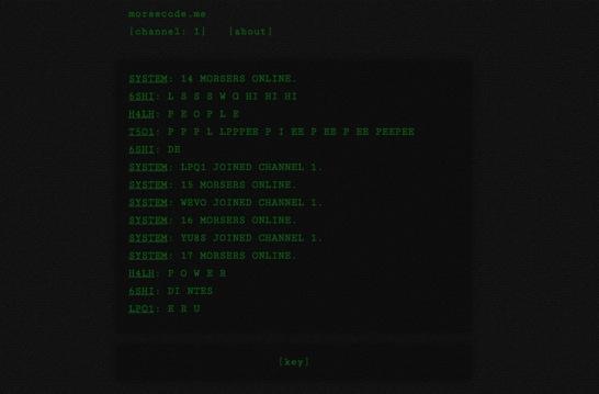 Morsecode me