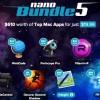 MacHeist、総額610ドルのアプリを19.99ドルで入手できる「nano Bundle 5」開催