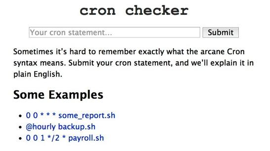 CronChecker