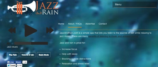 Jazz and Rain 1