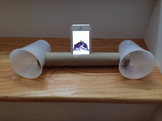 【夏休み工作部】「iPhone」のスピーカーをプラスチックコップで自作するのが楽しそう   ソフトアンテナブログ
