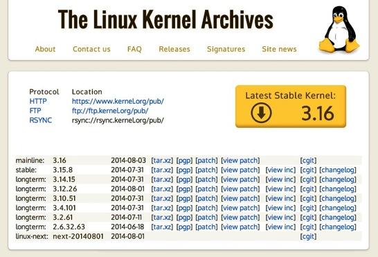 The Linux Kerne