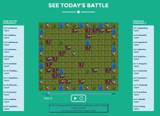 Javascript Battle 2