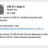 Apple、開発者向けに「iOS 8.1 beta 2」をリリース