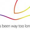 Apple、10月16日に開催されるイベントの招待状を送付「It's been way too long」ってひょっとして…?