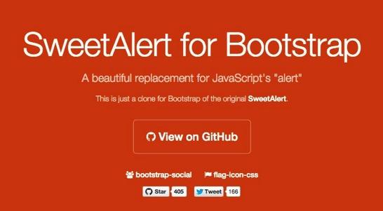 SweetAlert for Bootstrap