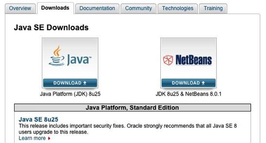 Oracle、「Java SE 8 Update 25」、「Java SE 7 Update 71/72」を公開