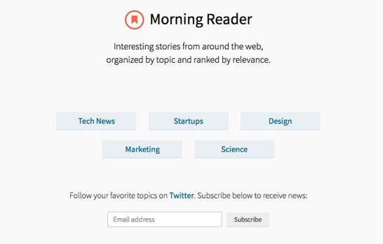Morning Reader