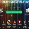 17個のMacアプリを90%オフ996ドルお得に入手できる「The Mega Holiday MAC Bundle」開催中