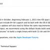 Apple、開発者に対しiOSアプリの64bit対応必須化を再度アナウンス