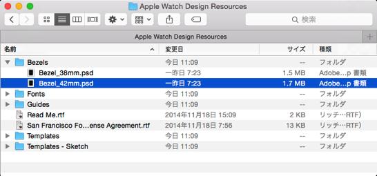 Apple Watch Design Resources