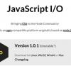 Node.jsからフォークしたプロジェクト「io.js 1.0.1」がリリース