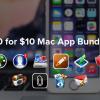 StackSocial、10個のアプリを10ドルで販売する「10-For-$10 Mac App Bundle」セールを開催中