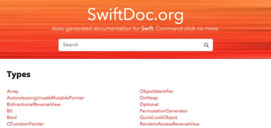 SwiftDoc org