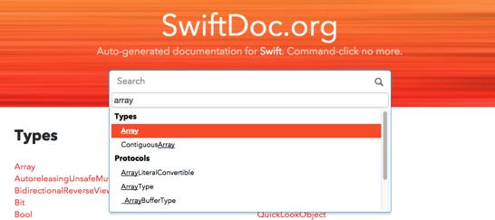 Home  SwiftDoc org