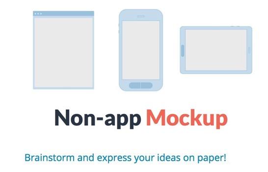 Non app mockup
