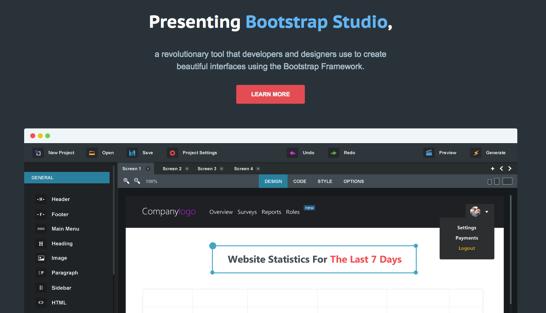 ColorSnapper と Bootstrap Studio