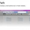 FinderPath - MacのFinderにアドレスバーを追加する便利なユーティリティ