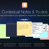 フォルダやファイル、アプリにも貼り付けることができる!全く新しい付箋アプリ「Ghostnote」