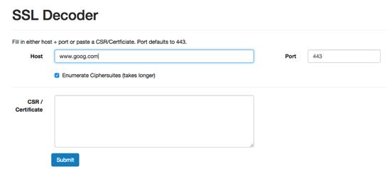 SSL Decoder