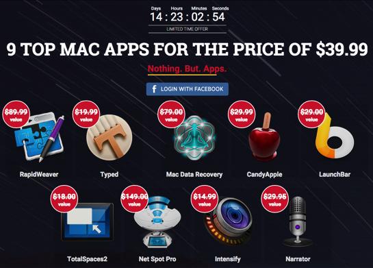 ColorSnapper と BundleHunt The Spring Productivity MAC Bundle