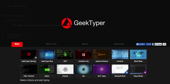 GEEKtyper com