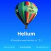 Helium - 表示しっぱなしで邪魔にならない究極のながら見ブラウザー