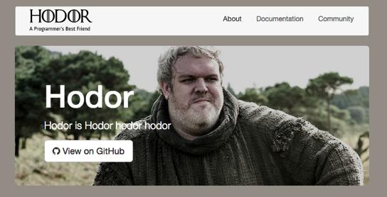 Hodor Programming Language