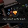 Apple Watch GUI for Sketch - Apple Watchのベクター素材を格納したSketch 3テンプレート