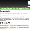 「Jython 2.7.0」リリース