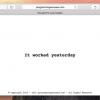 programmingexcuses.com - プログラマーなら絶対ブックマークしておきたい言い訳集サイト
