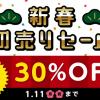 3DS/Wii Uのゲームが30%オフ!ニンテンドーeショップ 新春初売りセール開催中