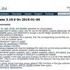 「SQLite 3.10」がリリース - パフォーマンスの最適化と新機能の追加