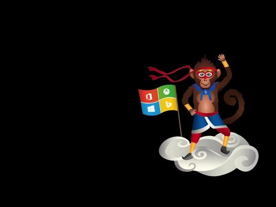 Windows Insider Ninjamonkey 1024x768