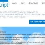 「TypeScript 1.8」がリリース - モジュールの拡張機能や、文字列リテラル型、エラー検出機能の強化