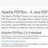 「PDFBox 2.0」がリリース – ApacheによるPDF処理用ライブラリが待望のメジャーバージョンアップ