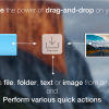 FilePane - ドラッグ&ドロップを強化して、ファイルの編集、コピー、圧縮などが素早く実行できるMacアプリ