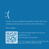 Windows 10 Build 14316のブルースクリーンがQRコード付きに超進化した模様