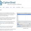 TrueCrypt互換暗号化ソフト「CipherShed」は死なず - 一年越しの最新版がリリース