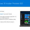 Microsoft、「Windows 10 Insider Preview build 14332」のISOを提供開始